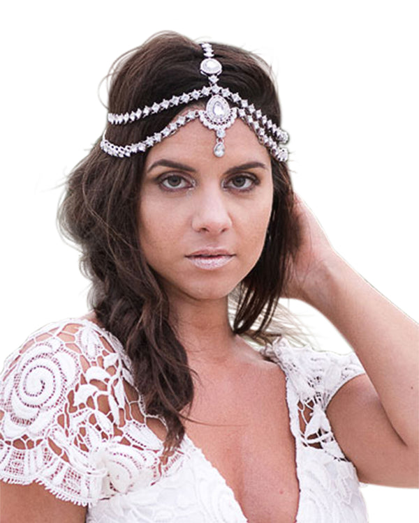 Dulce Silver Head Chain