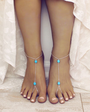 Addilyn Barefoot Sandals
