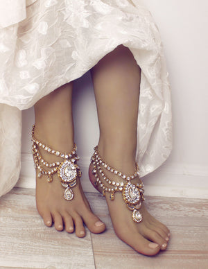 Bali Anklets in Gold
