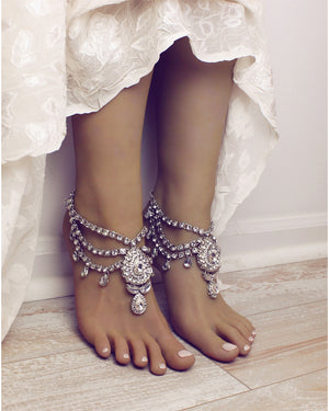 Bali Silver Anklets