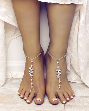Camellia Barefoot Sandals