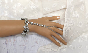 Faith Silver Hand Chain