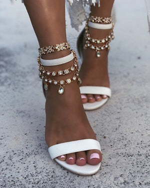 Sia Gold Anklets