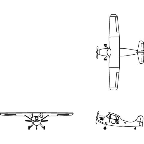 Aircraft - Light Propeller Plane [2D]