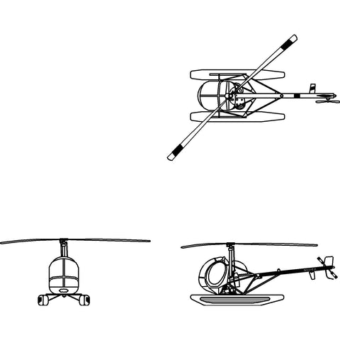 Aircraft - Light Utility Helicopter [2D]