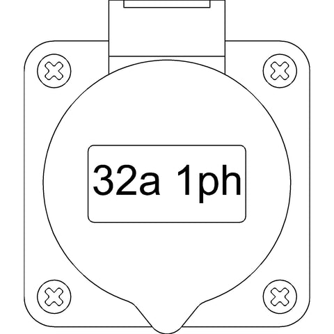 Electrical - Neutrik [2D] Chassis Socket