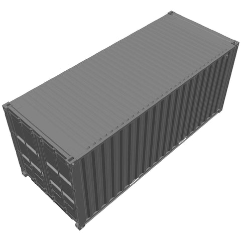 Shipping - Container ISO 20' [3D]