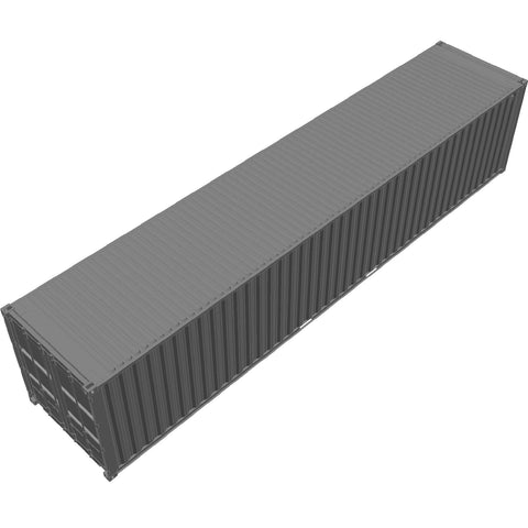Shipping - Container ISO 40' [3D]