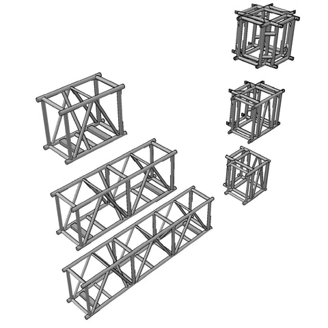 Truss - Tomcat Heavy Duty 30 x 20.5 Spigoted Box Truss [3D]