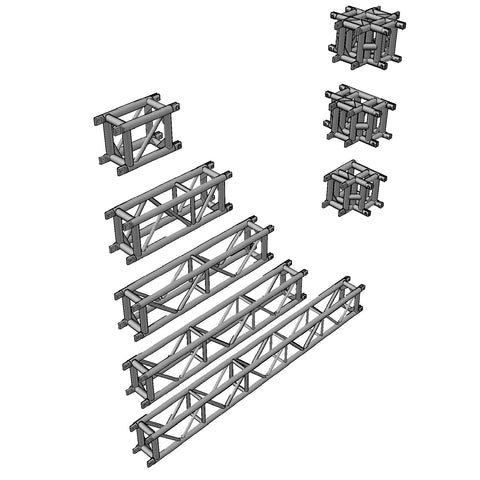 Truss - Tomcat Super Beam 13.7 x 10 Spigoted Box Truss [3D]