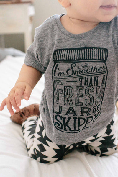 Smoother Than A Fresh Jar Of Skippy Tee - Alexandra Rose Handmade