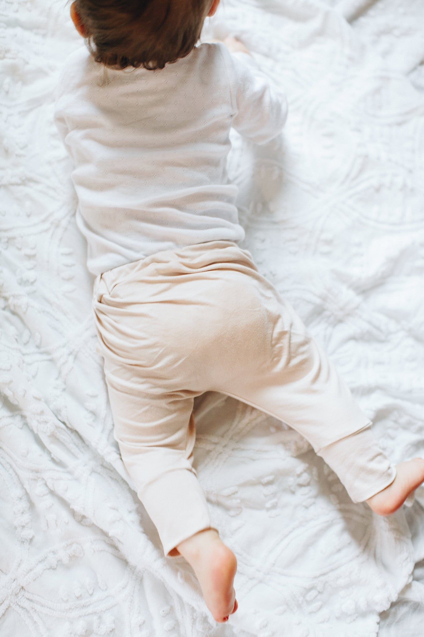 Harem Lounge Pants in Blush - Alexandra Rose Handmade