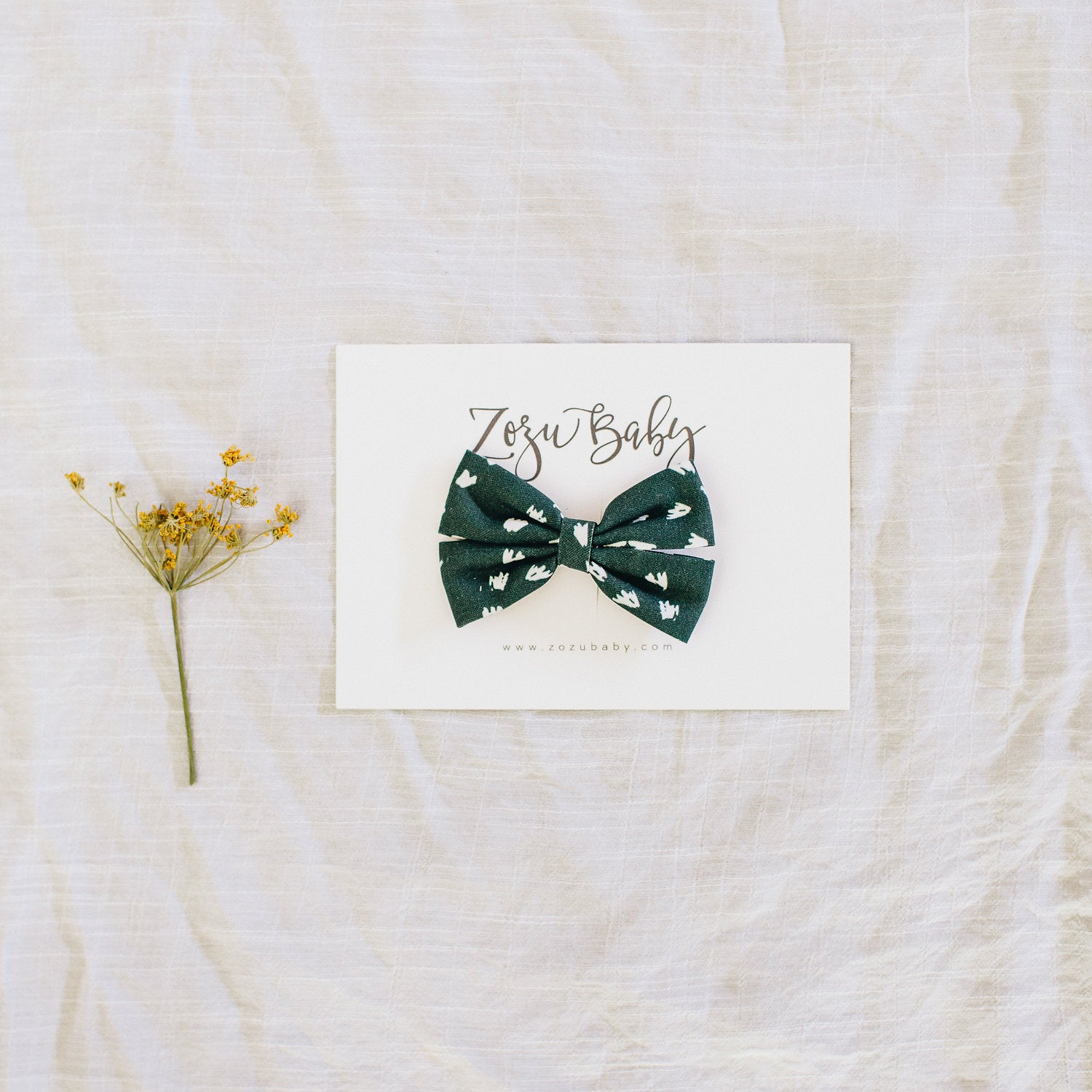 Piccino Bow // Clip or Headband