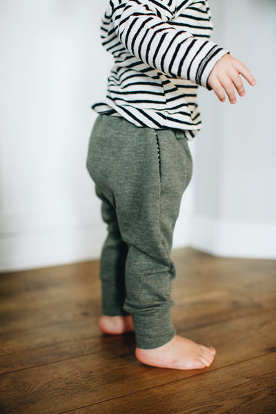 Jogger Sweats in Avocado - Alexandra Rose Handmade