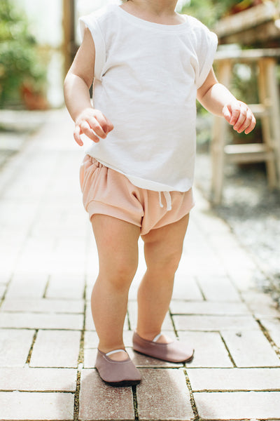 Jogger Style Bloomers in Blush - Alexandra Rose Handmade