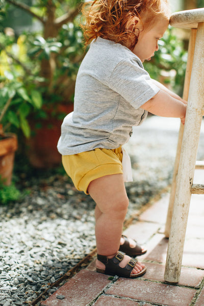 Jogger Style Bloomers in Mustard - Alexandra Rose Handmade