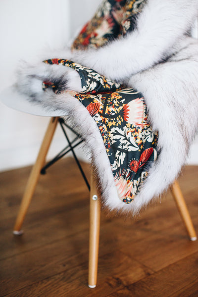 Essential Faux Fur Lap Blanket {available in multiple fabrics} - Alexandra Rose Handmade