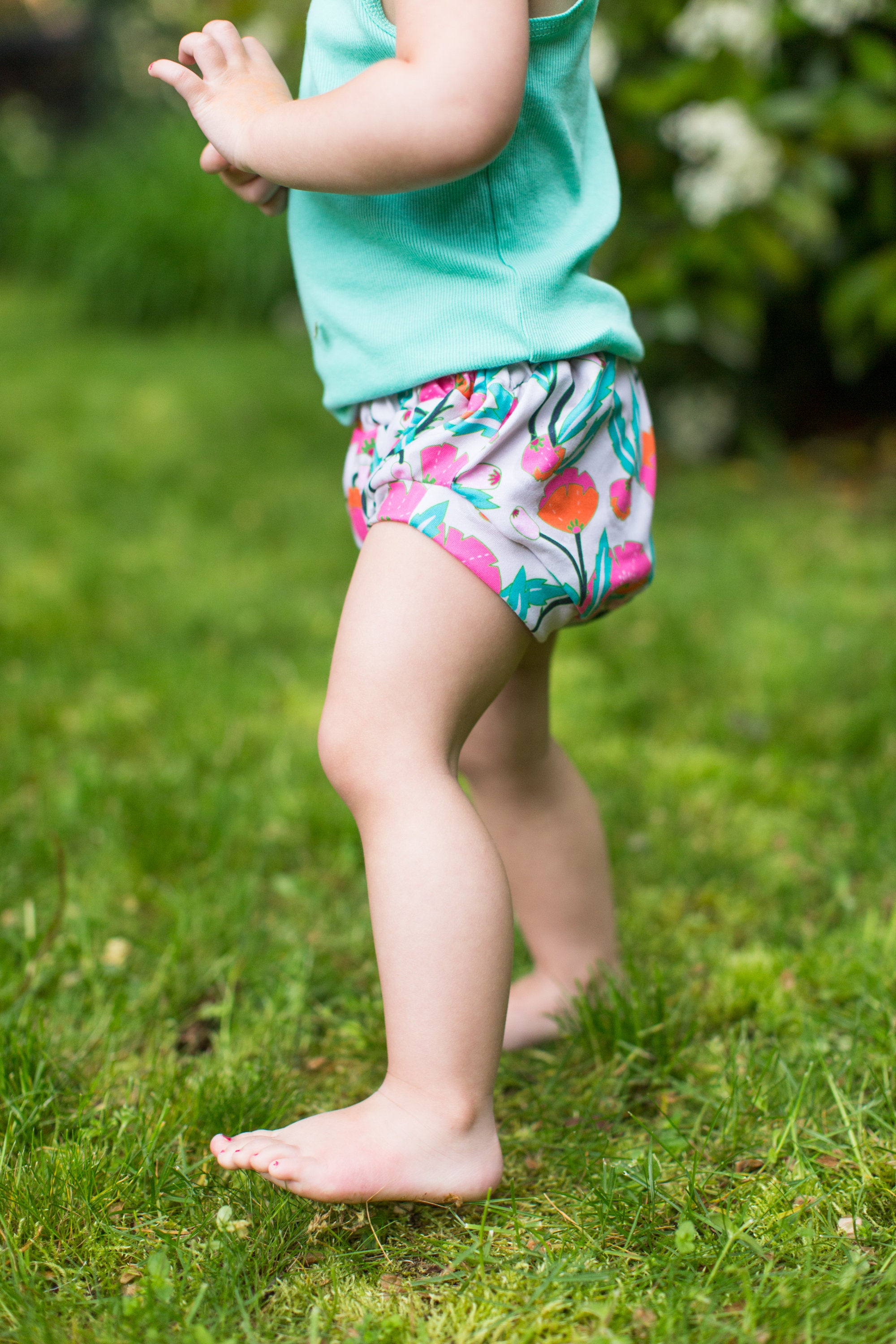 Classic Bloomers in Rainforest Floral