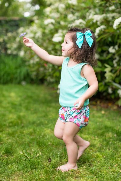 Classic Bloomers in Rainforest Floral - Alexandra Rose Handmade