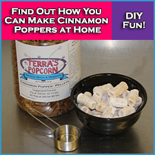 Cinnamon Popper Pellets