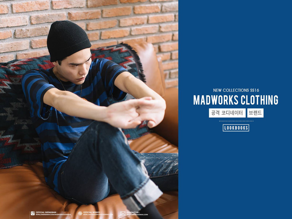 MADWORKS CLOTHING LOOKBOOK SS16 PART.01