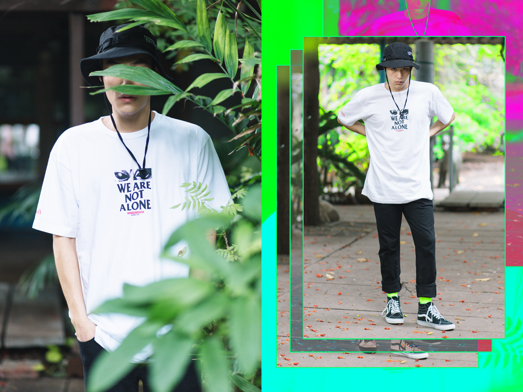 "MADWORKS NEW COLLECTION ""WE ARE NOT ALONE"" LOOKBOOK"