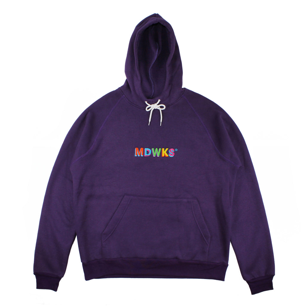 HD-005: MAD TWIST HOODIE OVERSIZE (PURPLE)