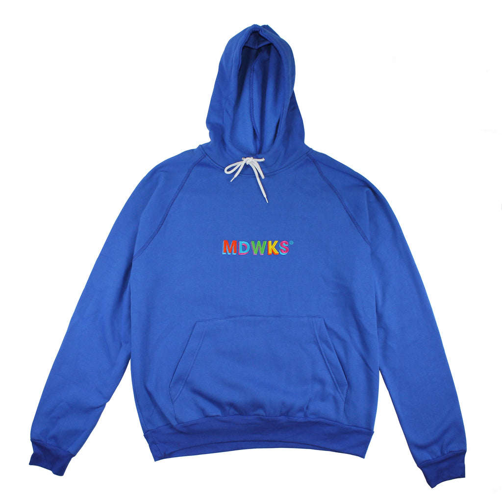 HD-005: MAD TWIST HOODIE OVERSIZE (BLUE)