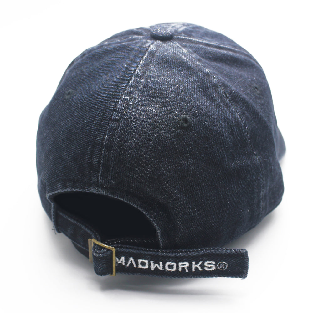 PC-002: M.A.D CLEAN CAPS (PRE-WASH DENIM)