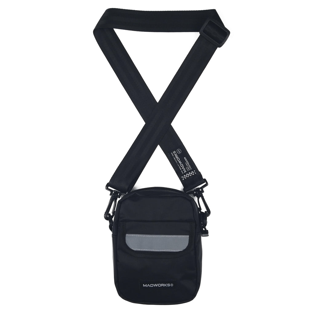 SBAG-008: MADWORKS POCKET REFLEX SHOULDER BAG (BLACK)