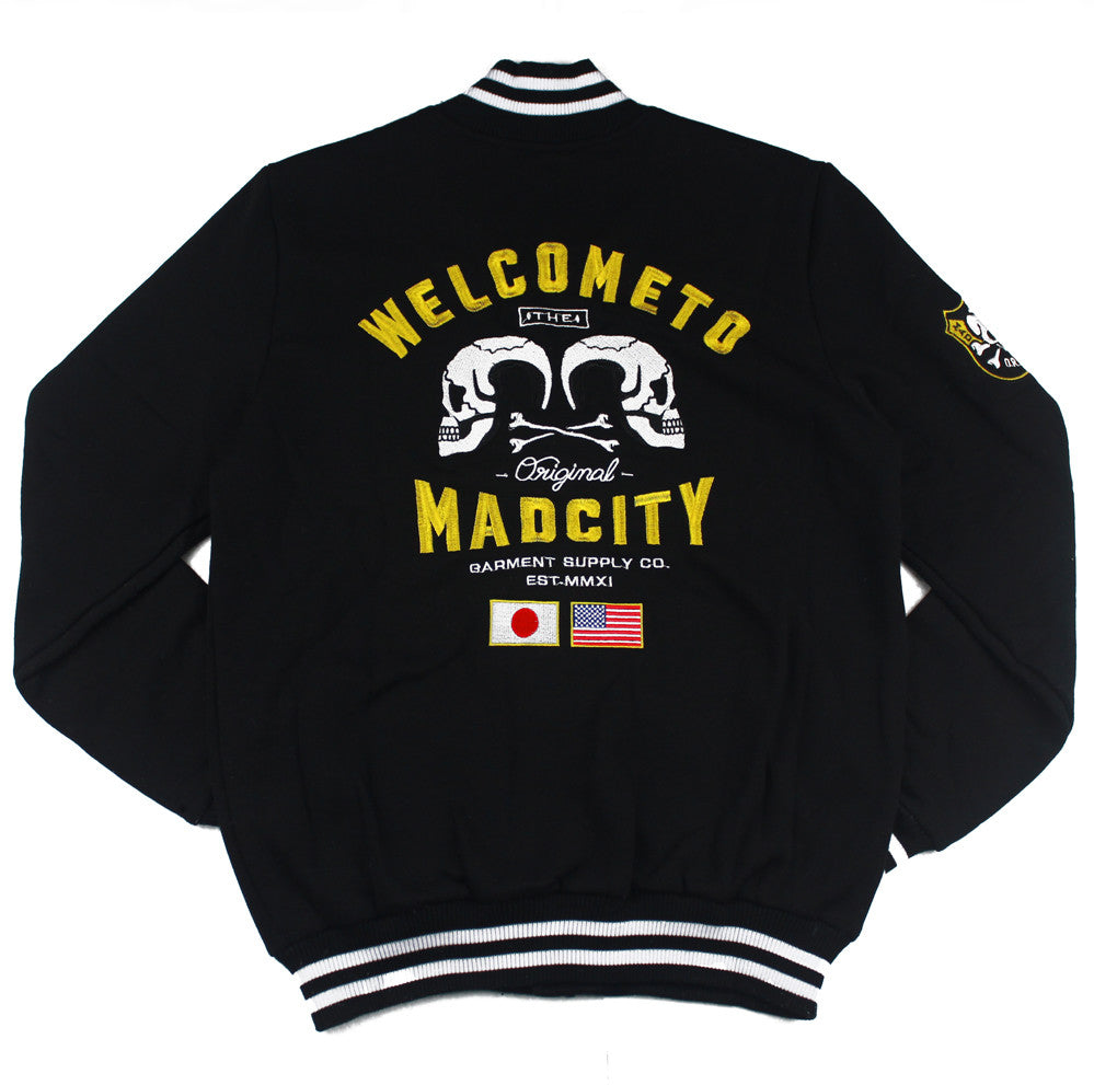 VAS-001: MADCITY WORLD TOUR VARSITY JACKET