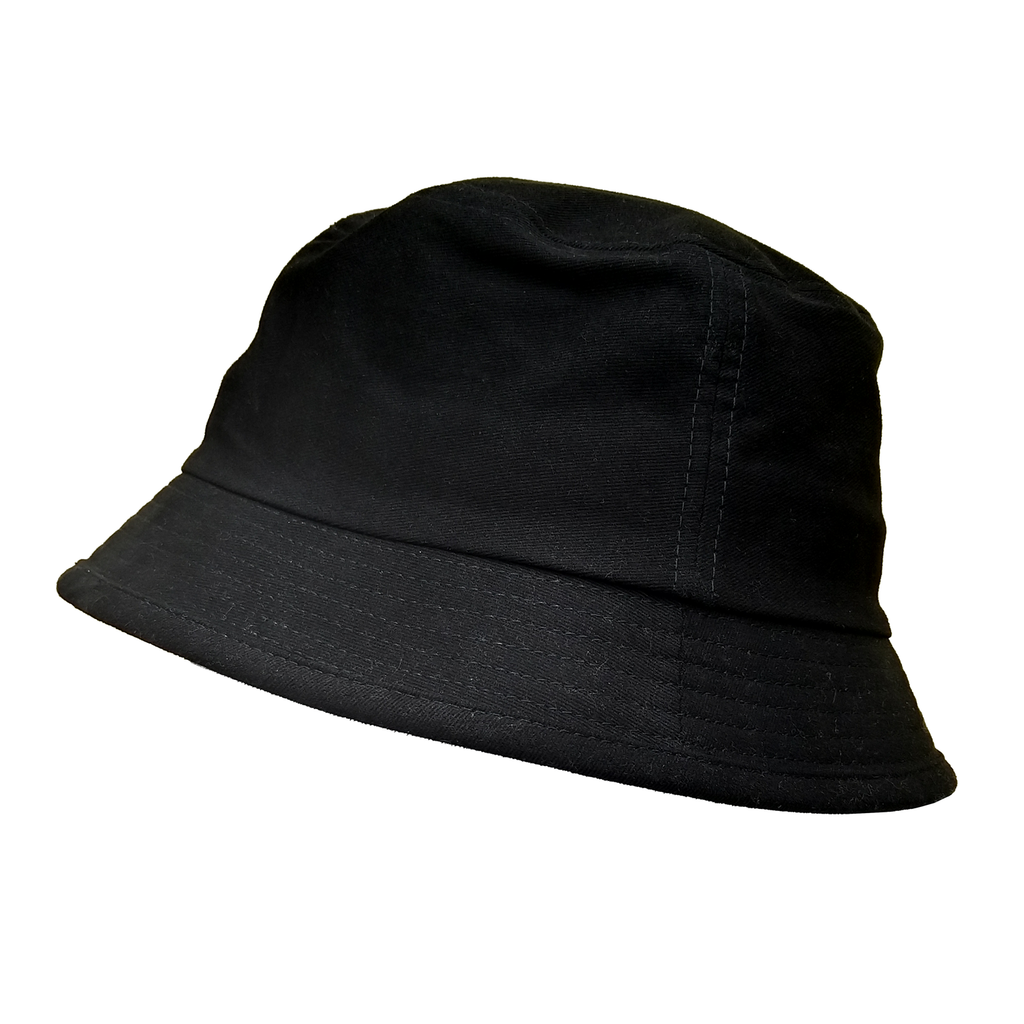 BH-002 ALL BLACX BUCKET HAT