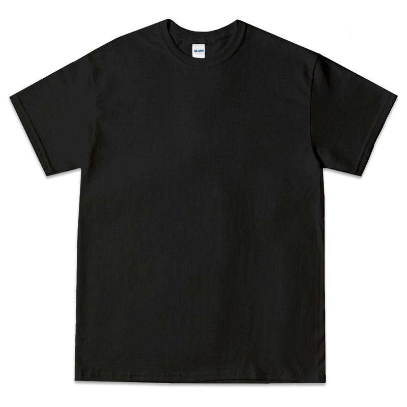 GIL-001: GILDAN ULTRA COTTON ( BLACK )