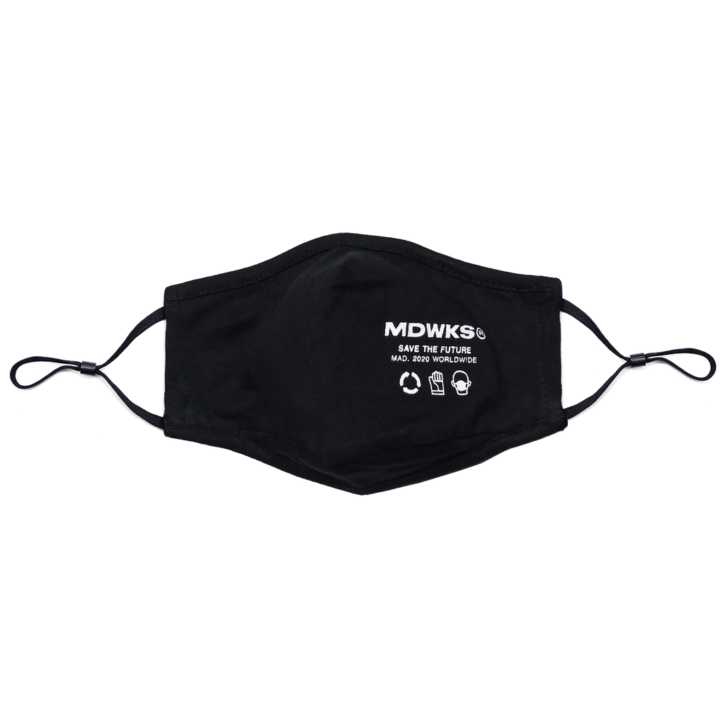 MAK-002: MADWORKS LOGO MASK (1 PACK) 3 PIECES