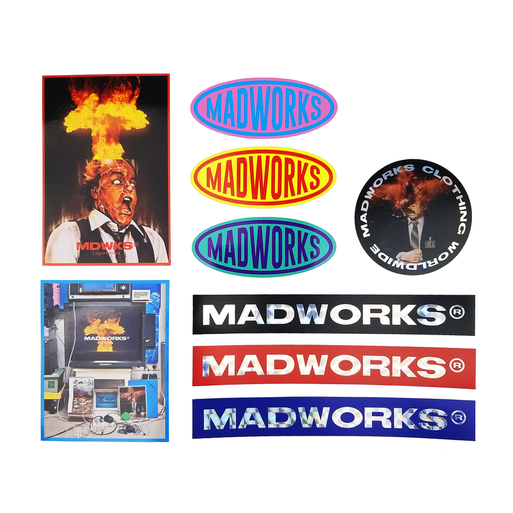 STK-001: MADWORKS STICK IT OR DIE PACK SERIES 001