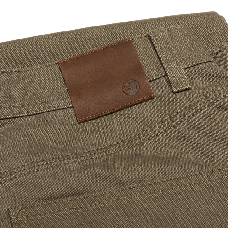 Duck Head - 1865 Five Pocket Field Canvas Pant - Dark Olive