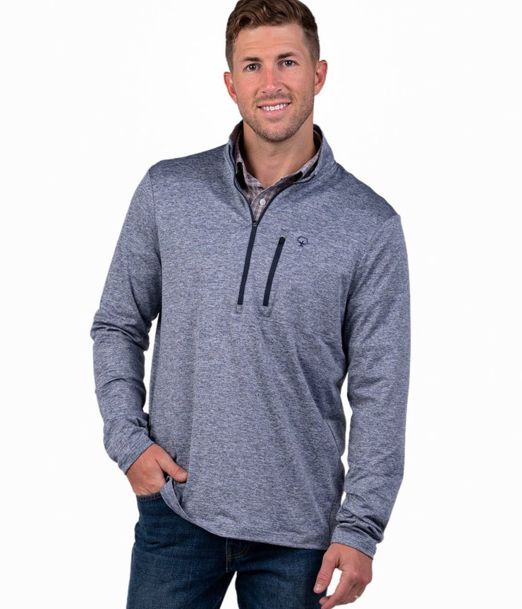 Southern Shirt - Back Nine Pullover - Oxford