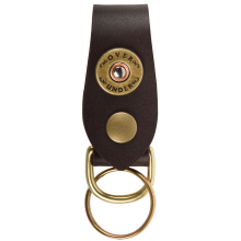 Over Under Single Shot Leather Key Fob