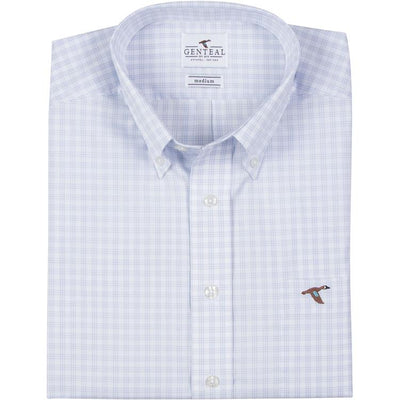 GenTeal - Nashville Tattersall Button Down- Heritage Blue