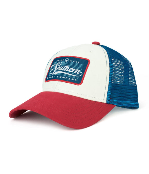 Southern Shirt Co. - Patch Trucker Hat - American Beauty