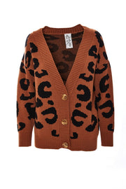 Hunter Leopard Cardigan