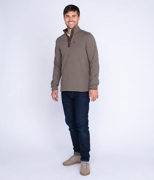 Southern Shirt - Tundra Snap Fleece - Driftwood