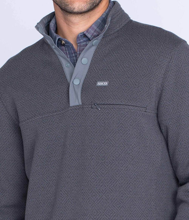 Southern Shirt - Tundra Snap Fleece - Magnet