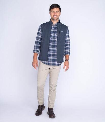 Southern Shirt - Tundra Vest - Midnight Navy
