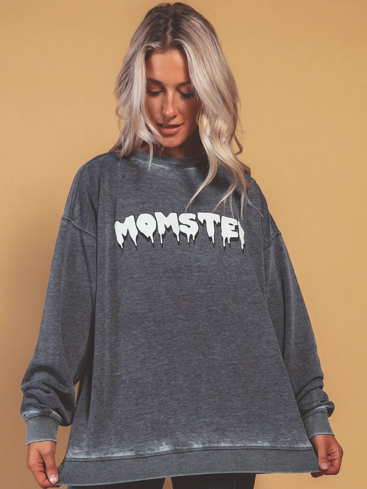 Friday + Saturday- Momster Sweatshirt