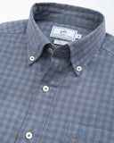 Southern Tide - Sea Oak Gingham Sportshirt - Light Indigo