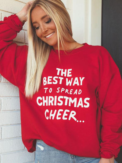 Charlie Southern - The Best Way to Spread Christmas Cheer Sweatshirt