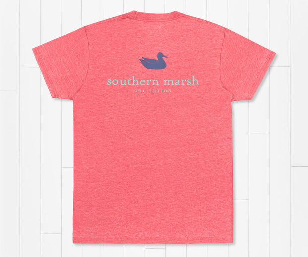Southern Marsh -  Authentic Seawash SS Tee - Strawberry Fizz
