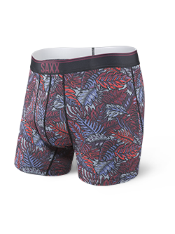SAXX - Quest 2.0 Boxer Fly - Red Tropic