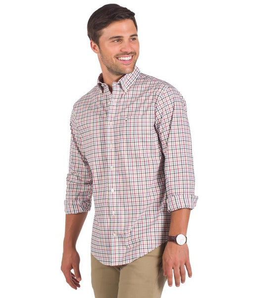 Southern Shirt - Freemont Check Button Down - Woodsman